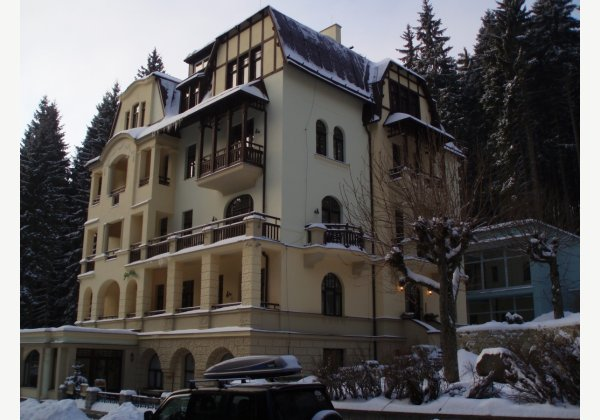SPA Hotel St. Moritz, Mar. Lázně