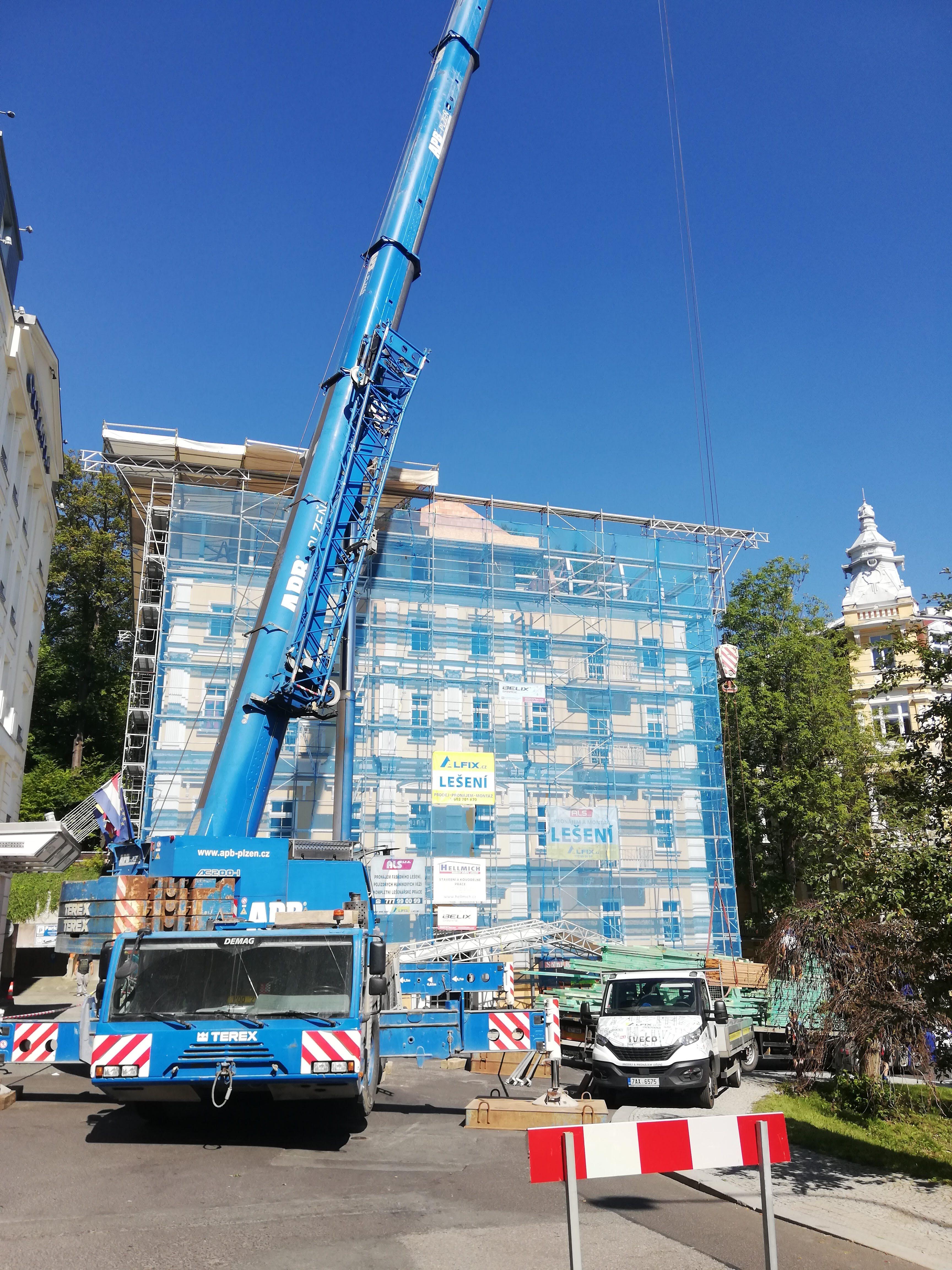 Rekonstrukce bytového domu Británia