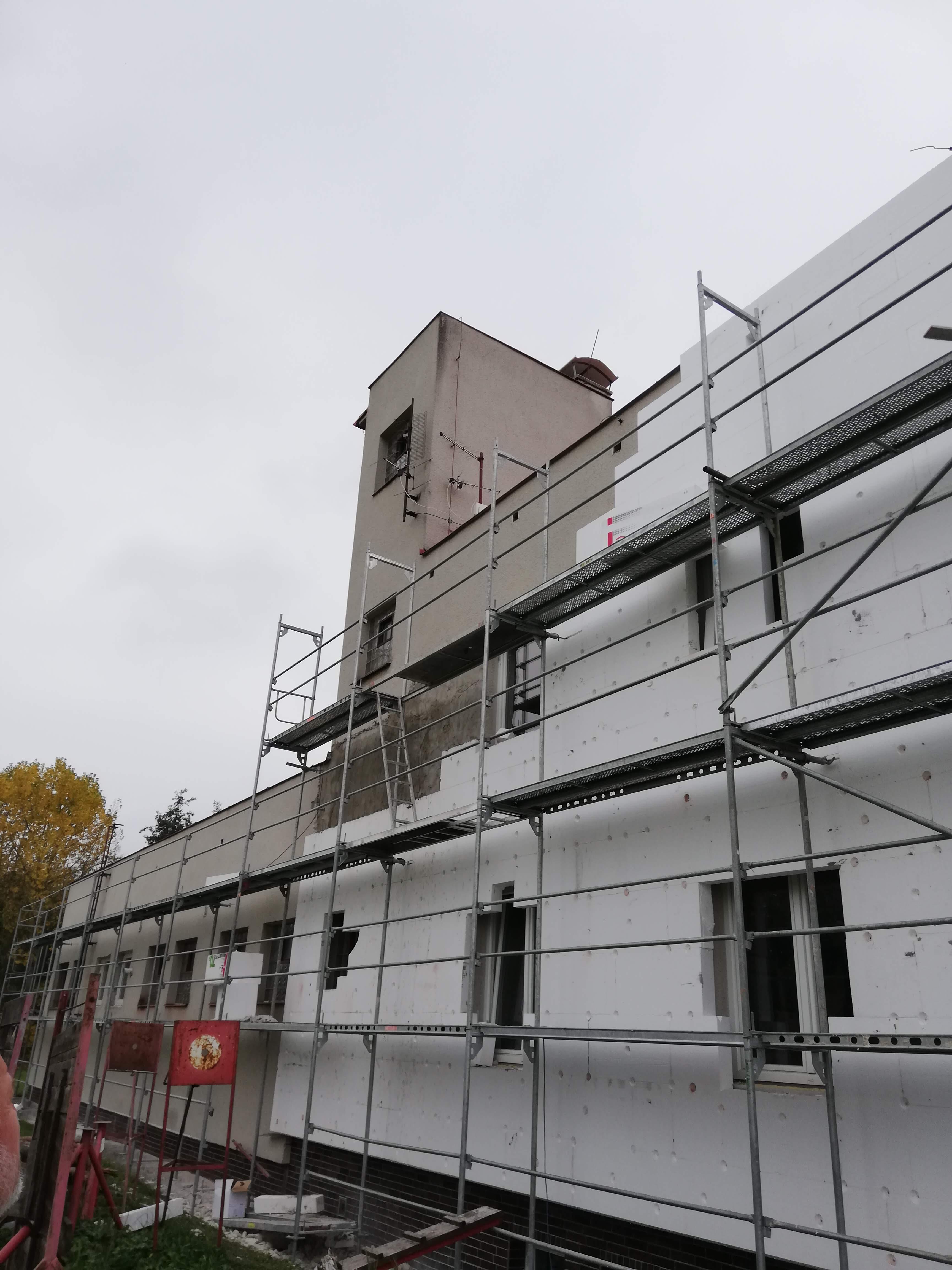 Rekonstrukce hasičské zbrojnice Drmoul
